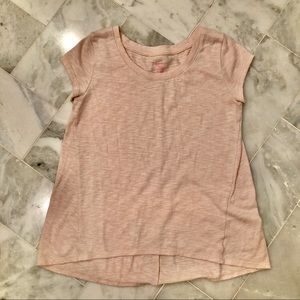 💜Xhilaration light peach/pink sleep shirt